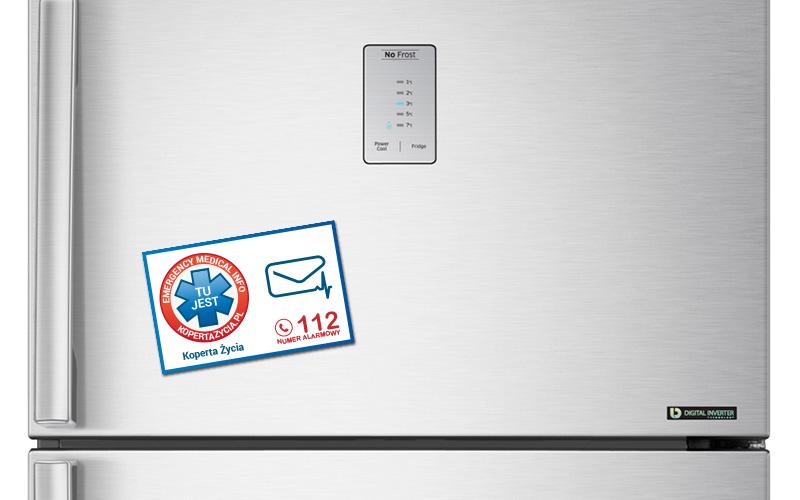 Nowość Koperta Życia - Koperta z kartą + magnes na lodówkę BX44
